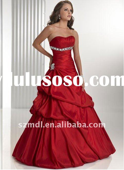 New Arrival Wedding Dress with the Corset Bodice and the Pick Up Skirt