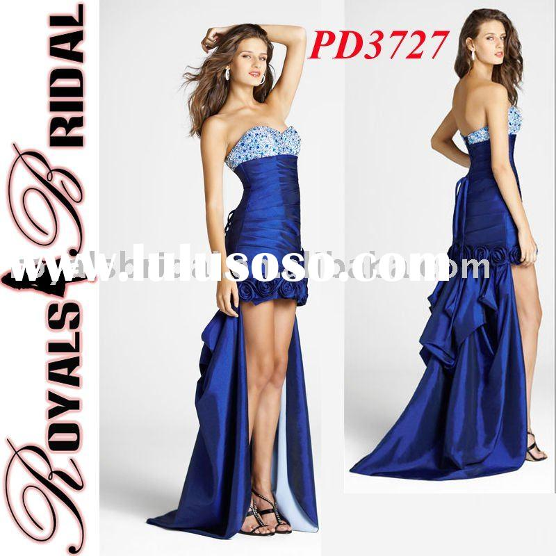 New Design Beautiful Royal Blue Prom Dress
