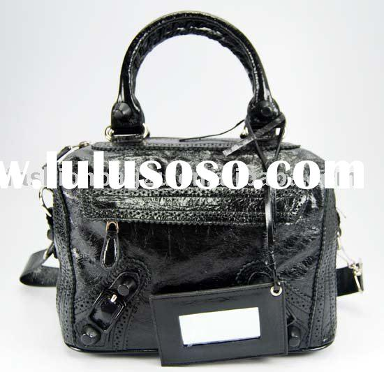 New designer inspired handbag tote black