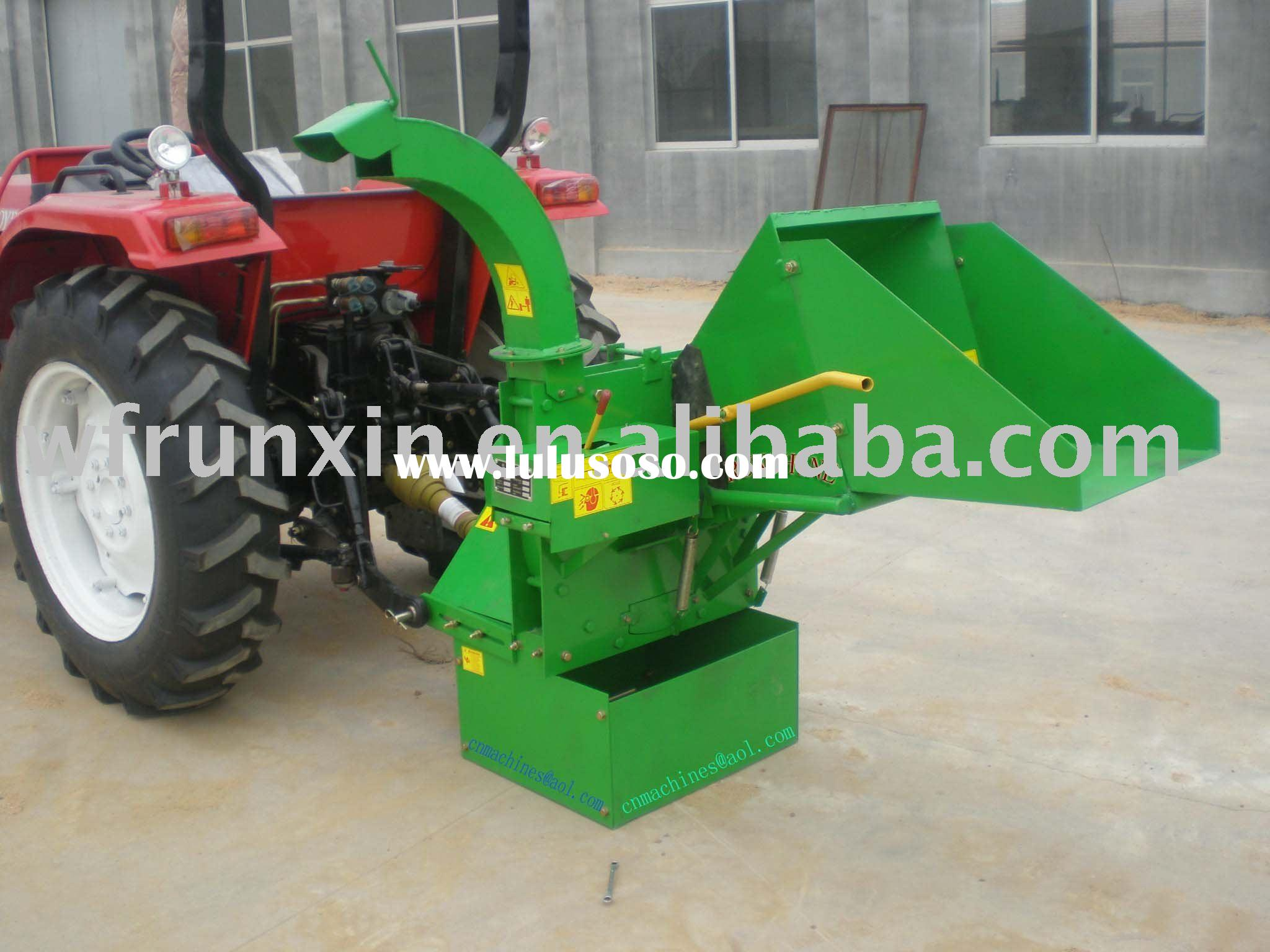 PTO wood Chipper with CE