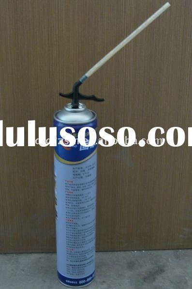 PU foam aerosol valve and nozzle