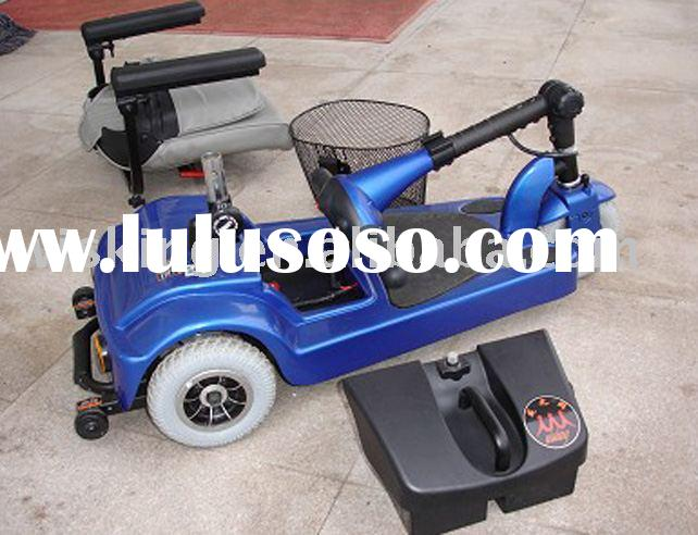 Portable Electric Power Mobility Scooter for the Disabled