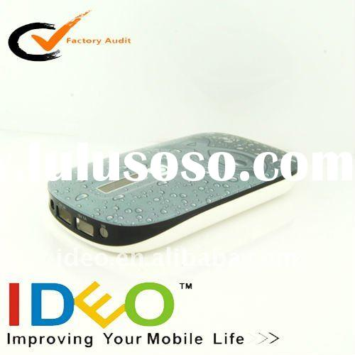 Portable/External Battery Charger 8000mah for Mobile phone/iPad/Samsung//Playbook/Moto/HTC/tablet pc