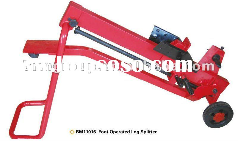 Portable Foot-operated Log Wood Splitter BM11016