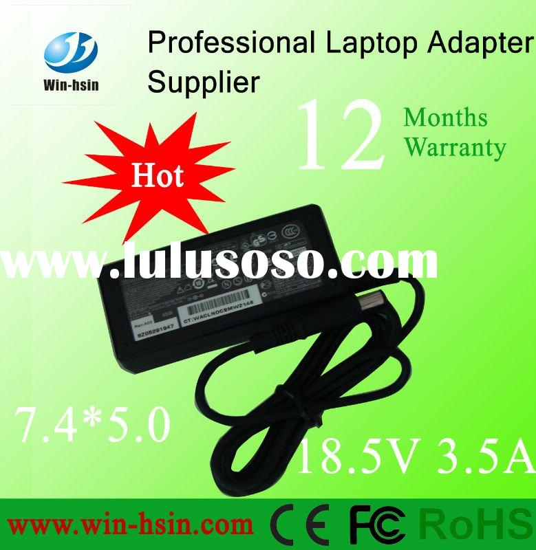 Power Adapter for HP 18.5V 3.5A 7.4*5.0MM with centre pin
