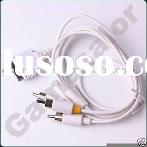 RCA AV Cable for iPhone 3G ipod touch Nano #9701