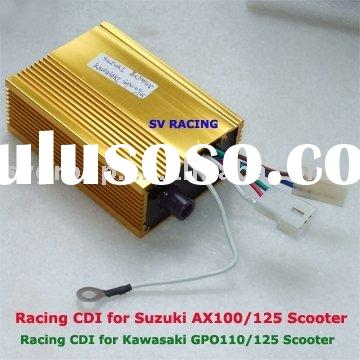 Racing CDI for Suzuki/Kawasaki 100-125cc Scooter