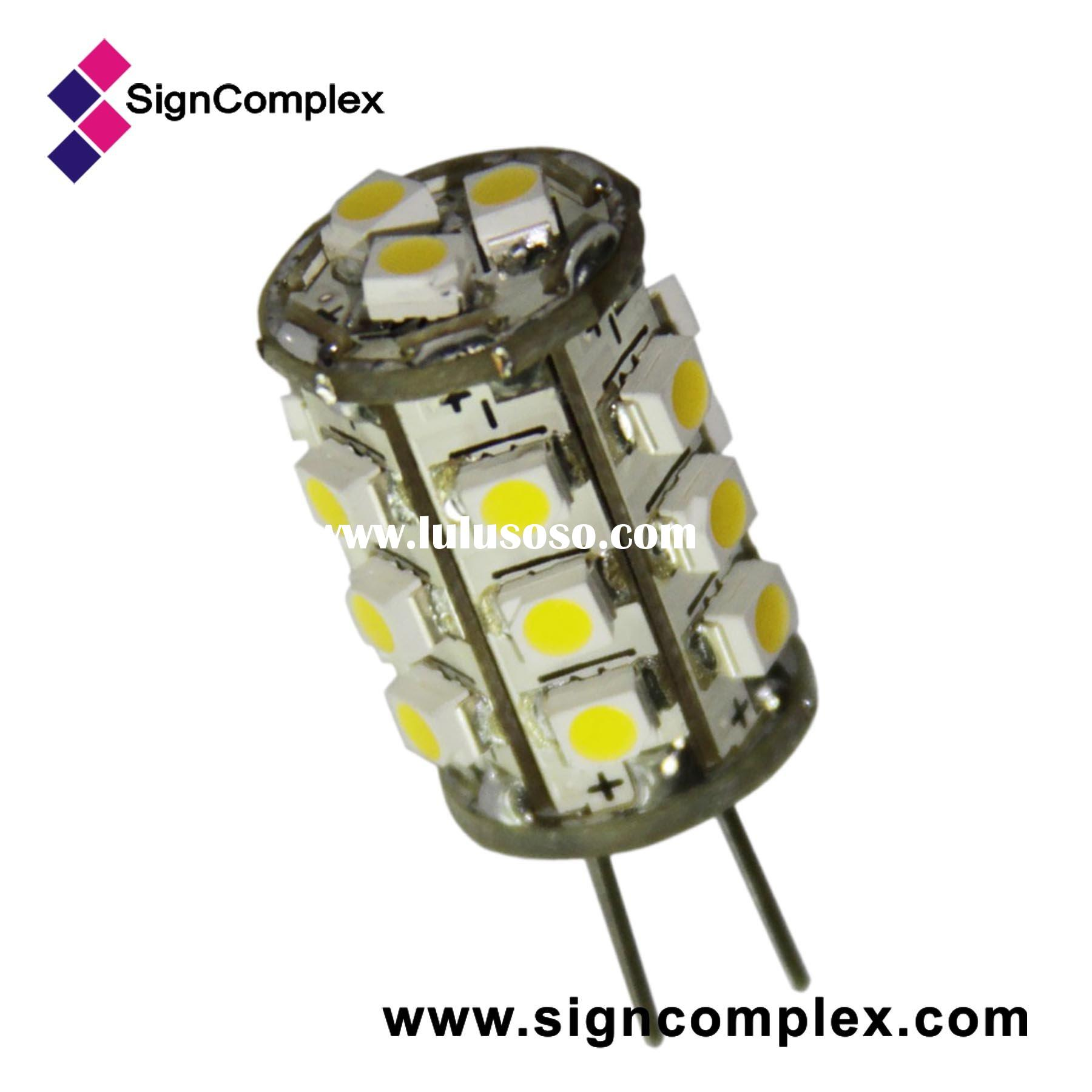 Replacement of 10W halogen lamp, SMD LED bulb, 1W G4
