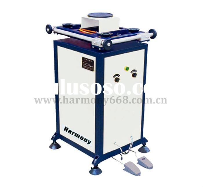 Rotated sealant coating table for insulating glass processing