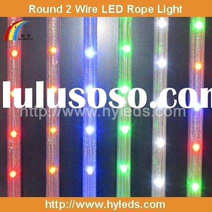 Round 2 wire LED Rope Light
