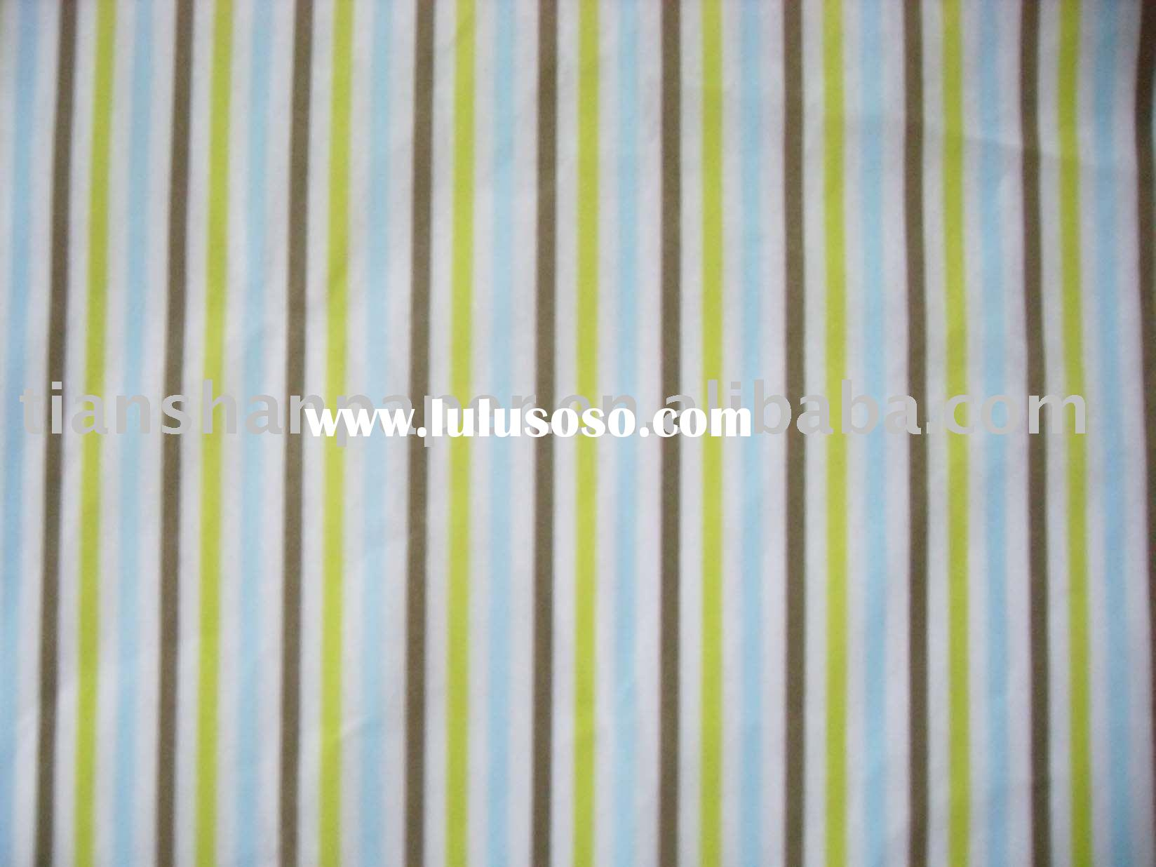 Spring Color Stripe Printed Tissue Paper