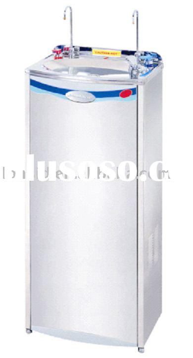 Stainless Steel P.O.U. hot and cold Water Fountain