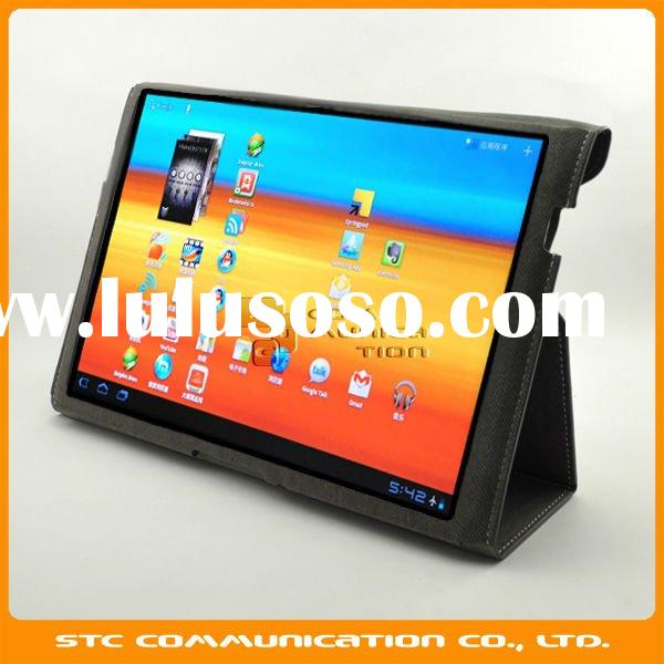 Standing case for samsung galaxy tab 10.1 inch P7510, Protective case/cover/skin for samsung galaxy