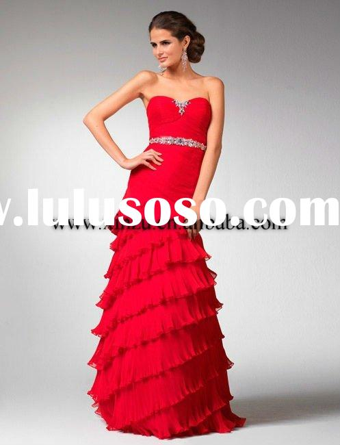 Sweet-heart Beads Tulle Evening /Prom Dress xz0088