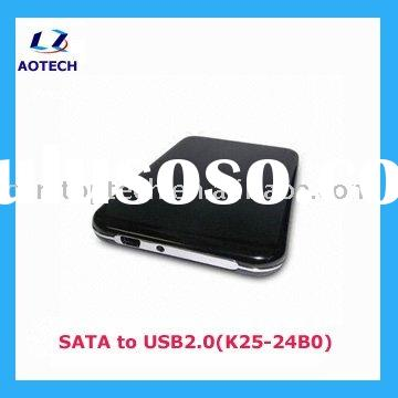 USB 2.5'' SATA hard disk Enclosure