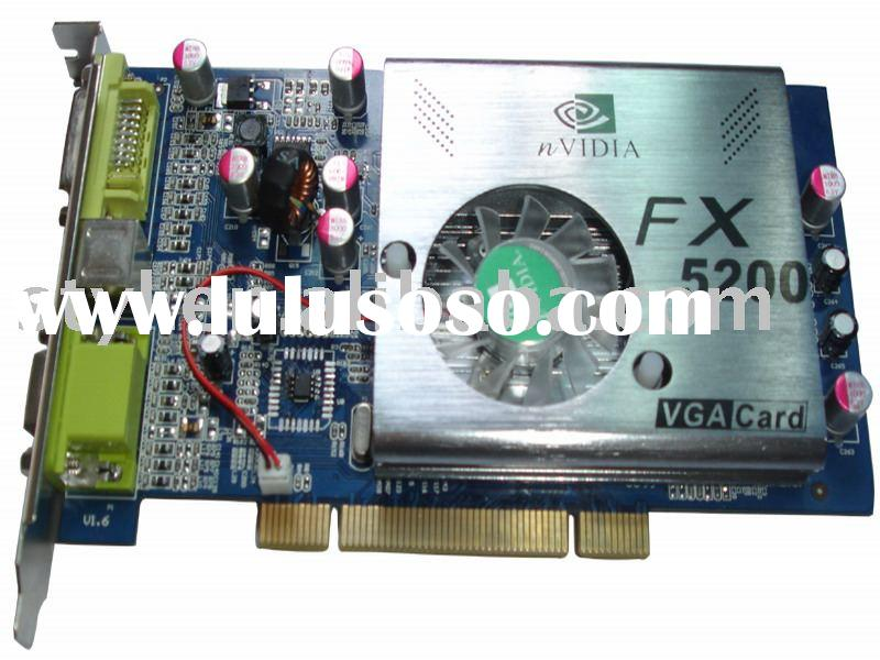 VGA card FX5200 128MB 128Bit DDR/graphic card/video graphic card