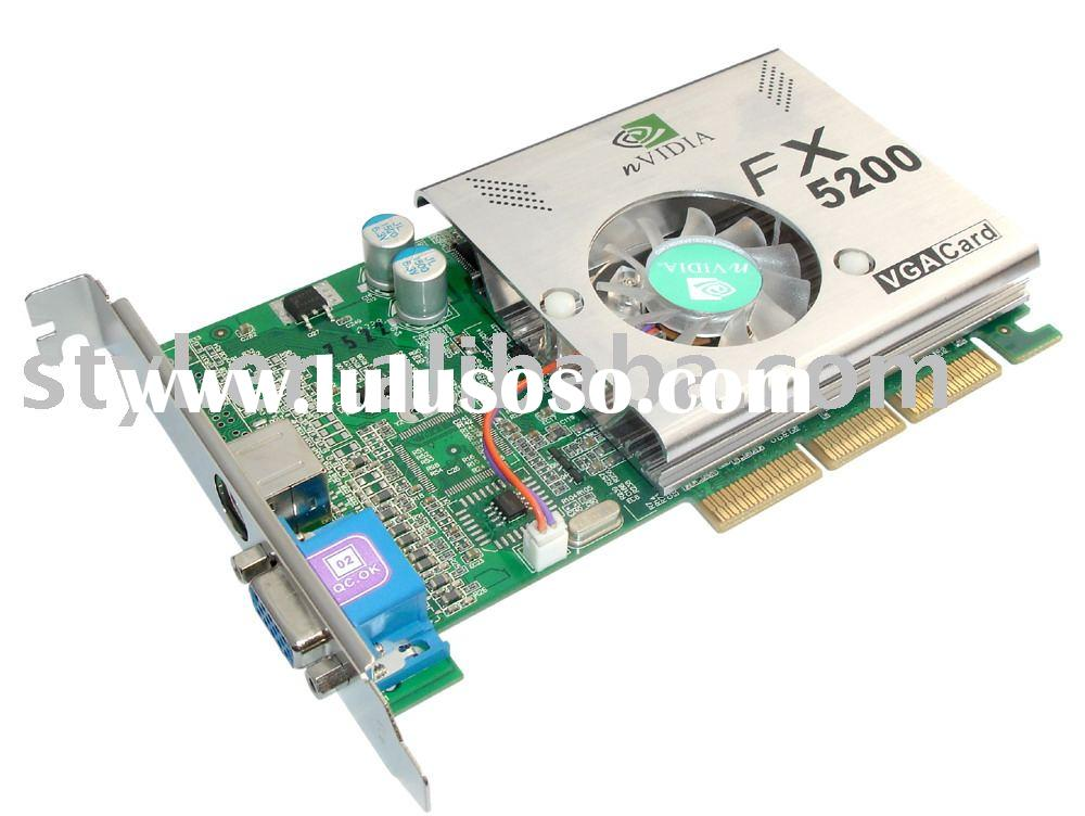 VGA graphic card FX5200 128MB 128Bit DDR/graphic card/video card/hardware components