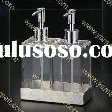 acrylic Twin Liquid Soap & Lotion Dispensers
