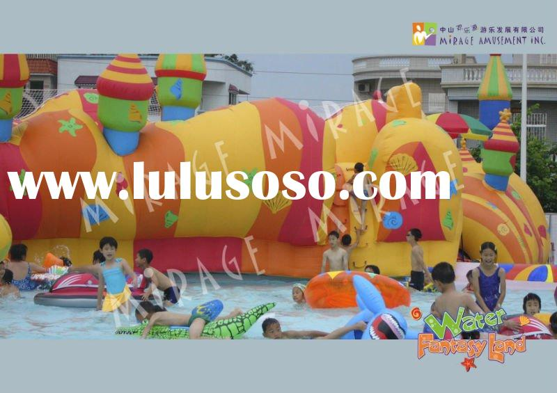 amusement park and inflatable pool--Water Fantasy Land