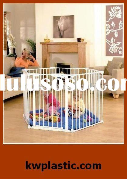 baby safety gate/baby playpen with gate