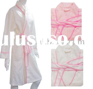 bathrobe, bath gown,fleece gown,fleece kimono,robe,bath dress,fleece bathrobe,sleepwear,hotel bathro