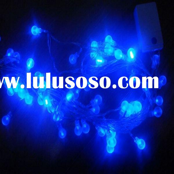 blue led christmas lights