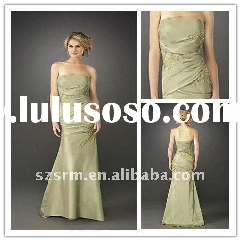 cheap beautiful sheath embroidery long backless formal evening dress