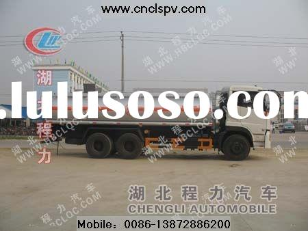 chemical tanker truck