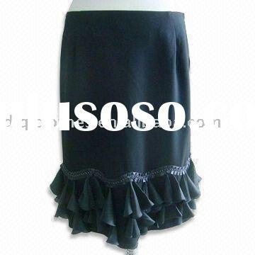 fashion ladies long formal skirt