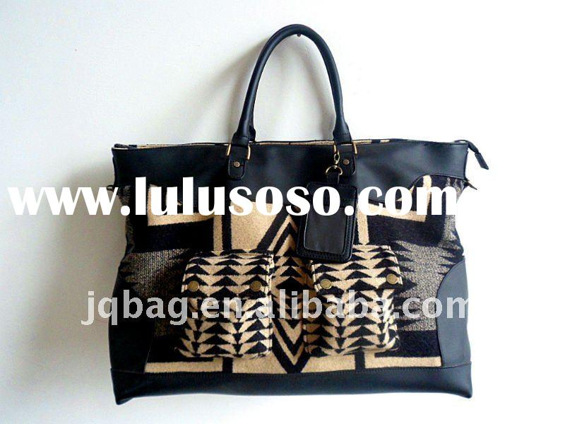 fashion real leather lady's handbag