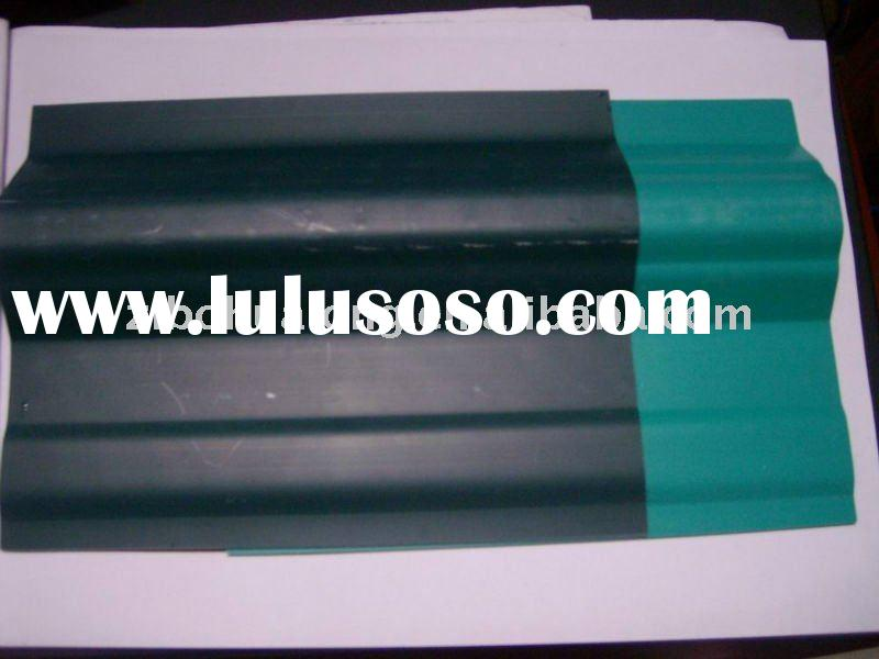 forest green PVC corrugated sheet