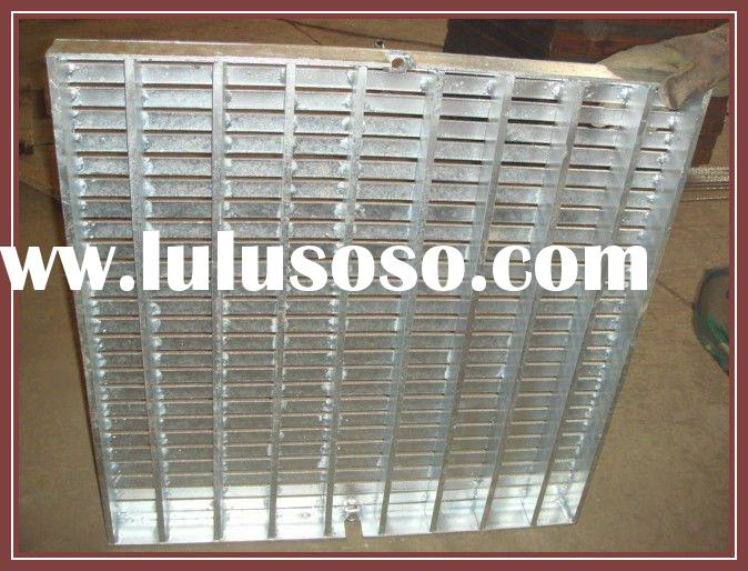 galvanized steel grating outdoor drain cover stainless steel stair treads
