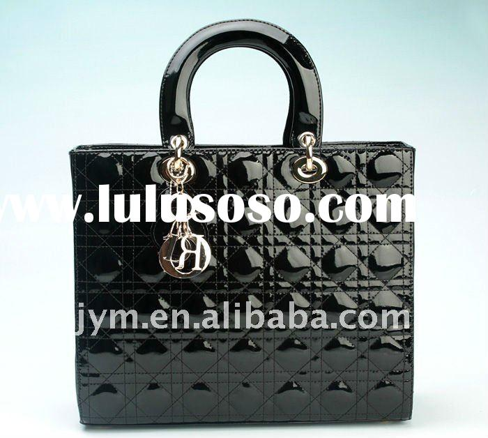 genuine leather patent leather handbags JX0013