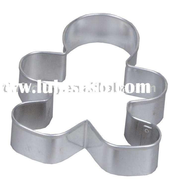 ginger man shape cookie cutter cookie tool cookie mould dough tool dough mould biscuit cutter mould