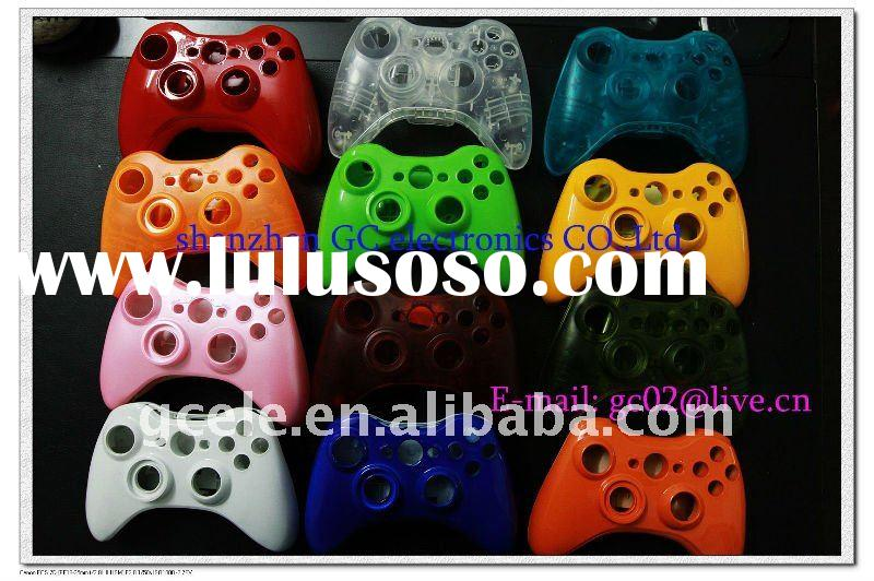 glossy colors shell case for wireless xbox360 controller Repair Parts--Made in China