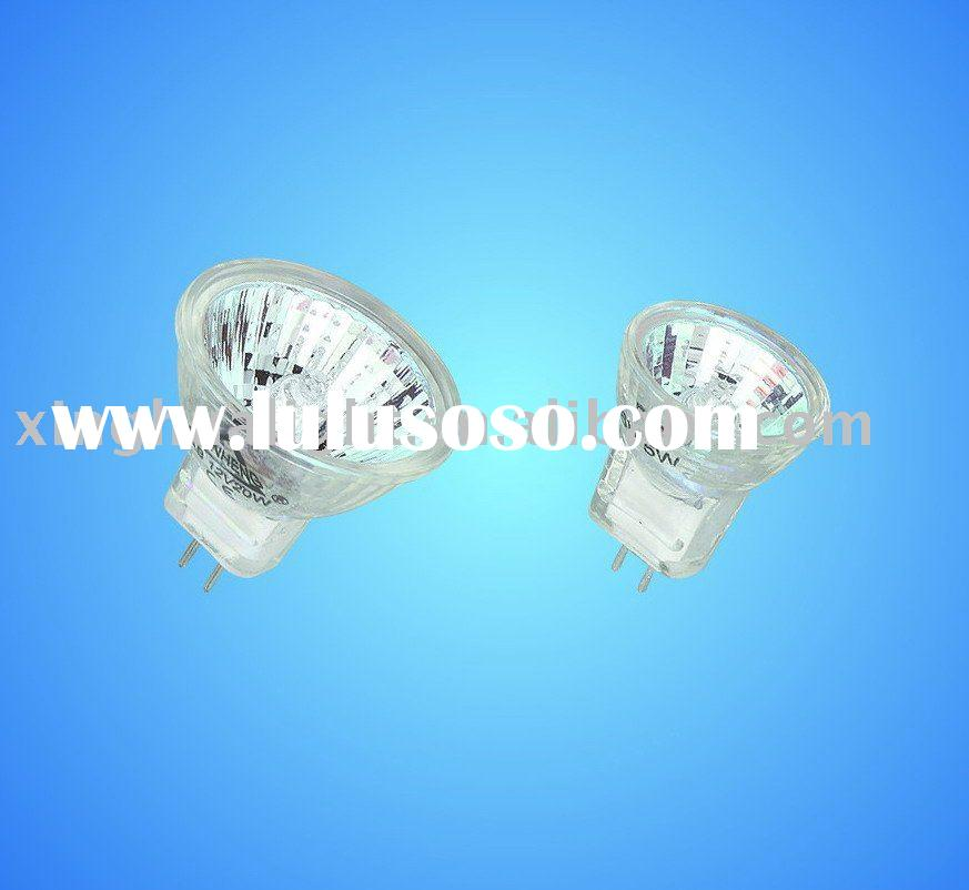 halogen lamp mr11 12v 20w/35w/50w frosted with cover