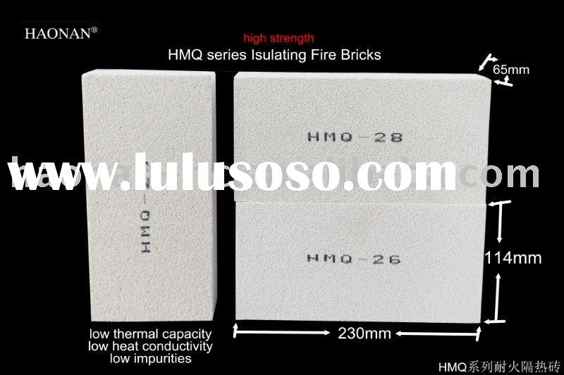 high degree of fire resistance refractory brick