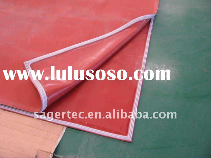 high temperature-resistance vacuum silicone bag for glass laminating machine