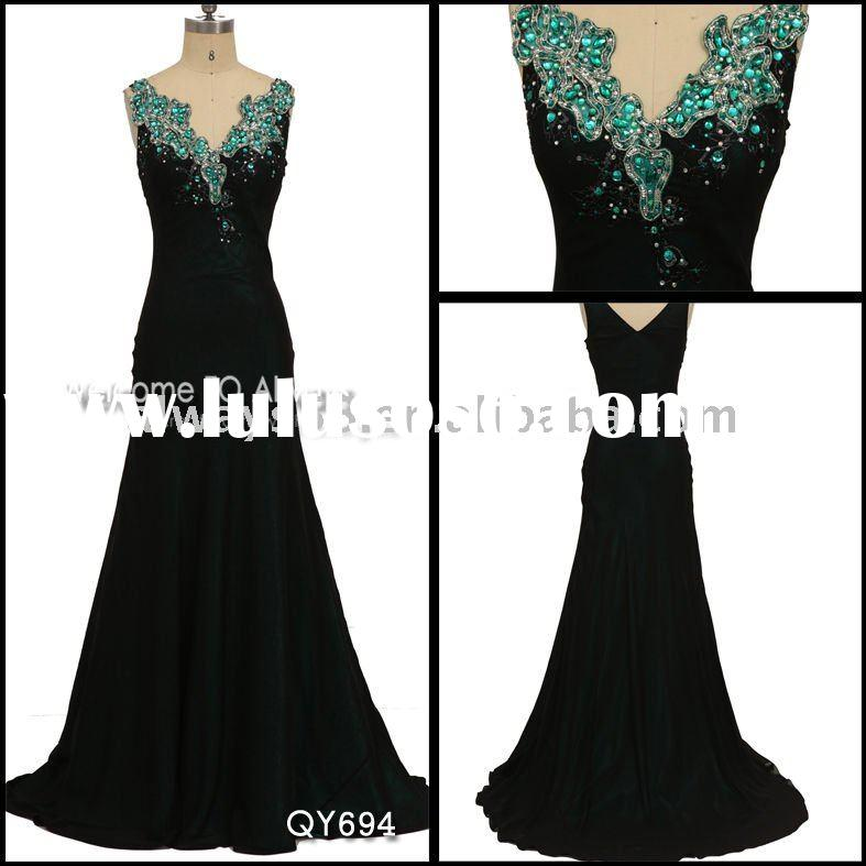 hot sell evening dresses for pregnant women qy694