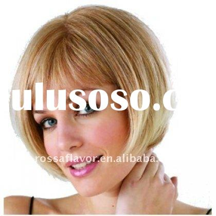 human hair lace front wigs with bangs 884
