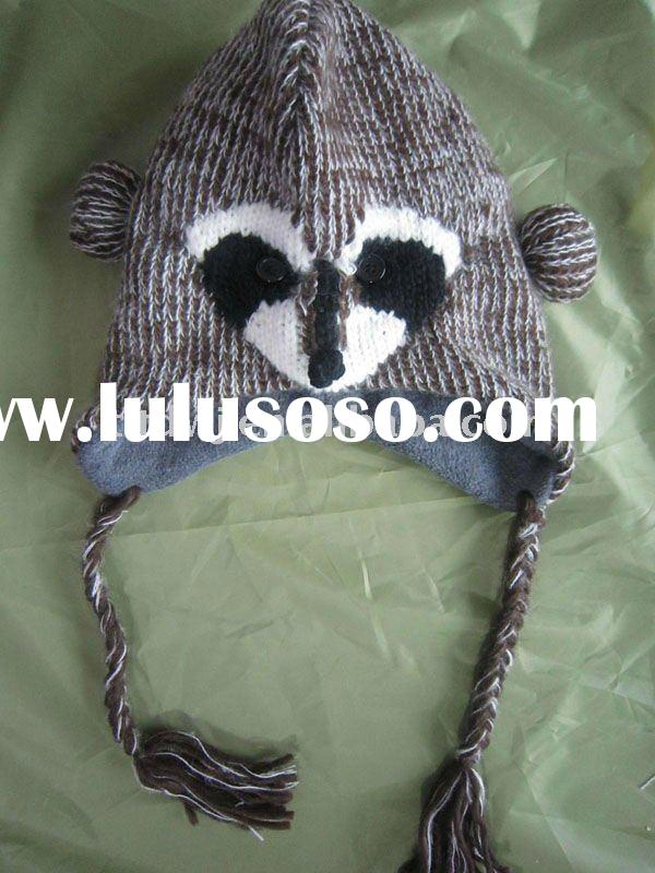 knit animal ears hats,ear hat