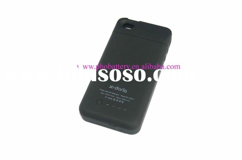 latest X-doria external rechargeable battery case for iphone4