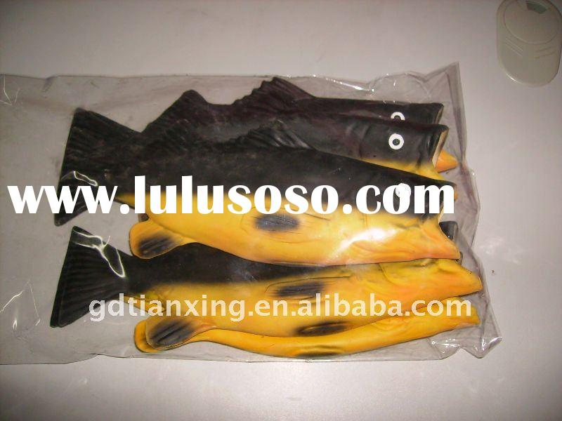 Latex rubber pants for sale price china manufacturer for Rubber fish toy