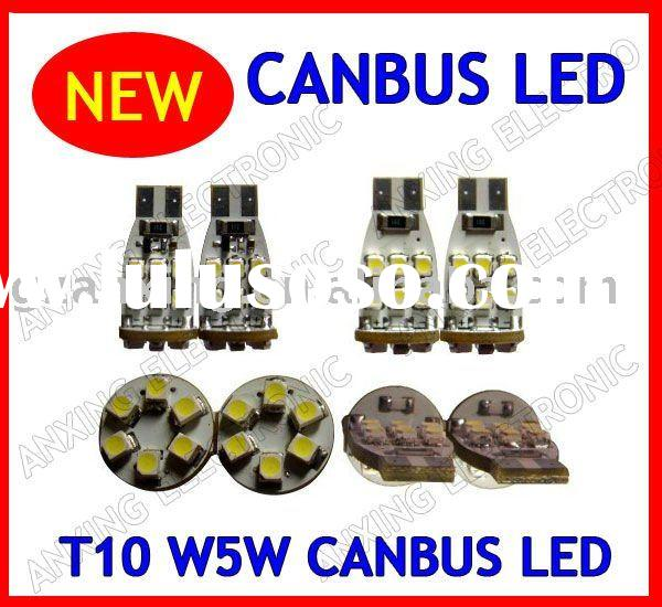 led smd t10 canbus ,t10 18 smd 3528