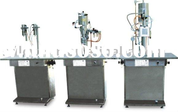 liquid&gas&foam aerosol filling machine
