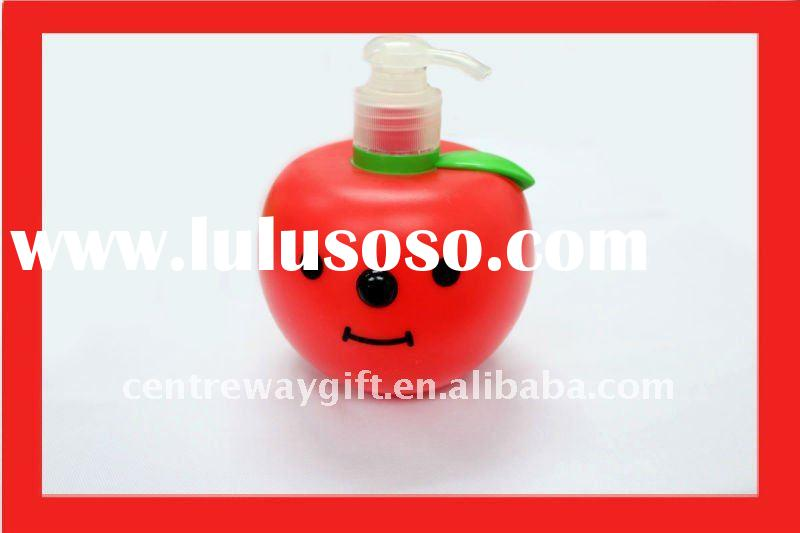 lovely apple shape fruit shape bottle plastic bottle