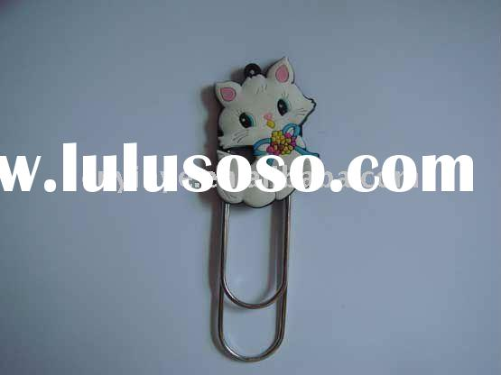 novelty cat shape bookmarker for gifts