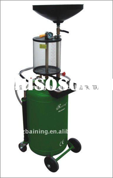 oil suck cleaning machine/mobile air-operated tank pump/vacuum oil extractor BN-8097