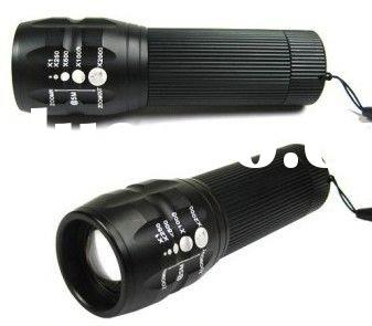 osram flashlight 240 lumens CREE Q5 WC Q4 LED Light Flashlight Torch+Holster