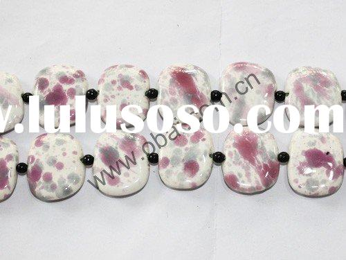 porcelain jewelry beads